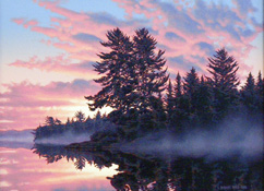 Sunrise, Lake Opeongo, Algonquin
